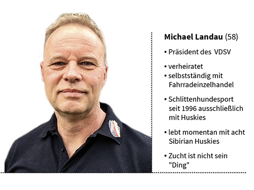 Präsident VDSV Michael Landau