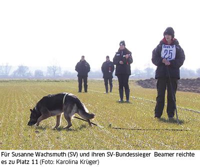 Susanne Wachsmuth und Beamer